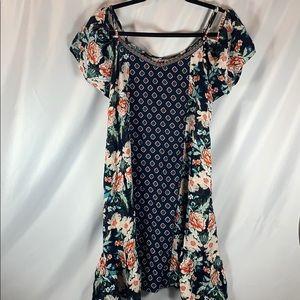 Xhilaration Drop-Shoulder Dress